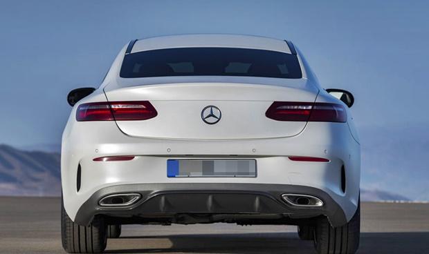 2018 The New MercedesBenz E Class Coupe Suspension System  Auto