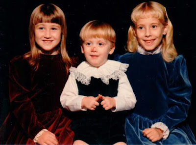 Zoe, Joel, Jordan 1987 or 1988 https://jollettetc.blogspot.com