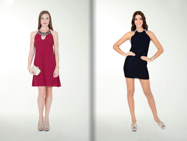 vestido de fiesta rojo corto
