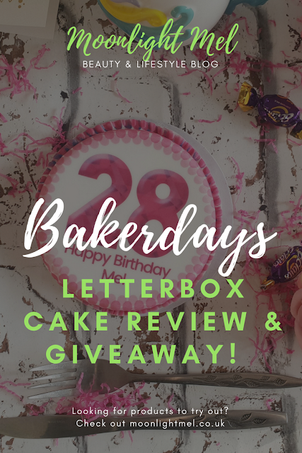 Bakerdays Letterbox Cake Review