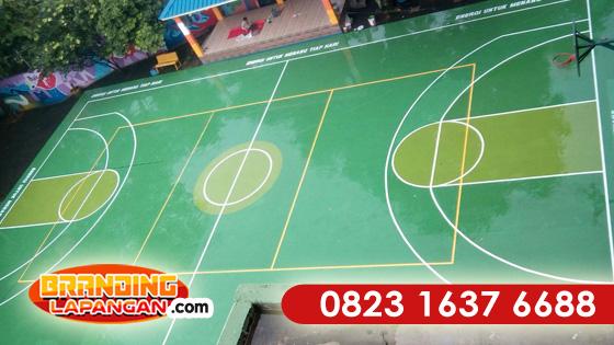 Pengecatan Lapangan Basket, Harga Cat Lapangan Basket, Jasa Pengecatan Lapangan Basket, Harga Pengecatan Lapangan Basket, Pengecatan Lapanga Basket Outdoor
