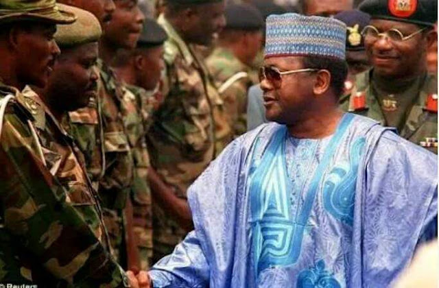 When he and AL - Mustapha were holding Nigeria and Nigerians to ransom via military might