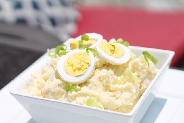 Paula Deen   Summer Picnic Potato Salad   Baked In The South