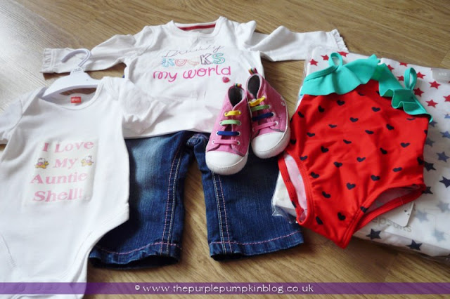 Nappy Babies & New Baby Gift Set for a Baby Shower at The Purple Pumpkin Blog