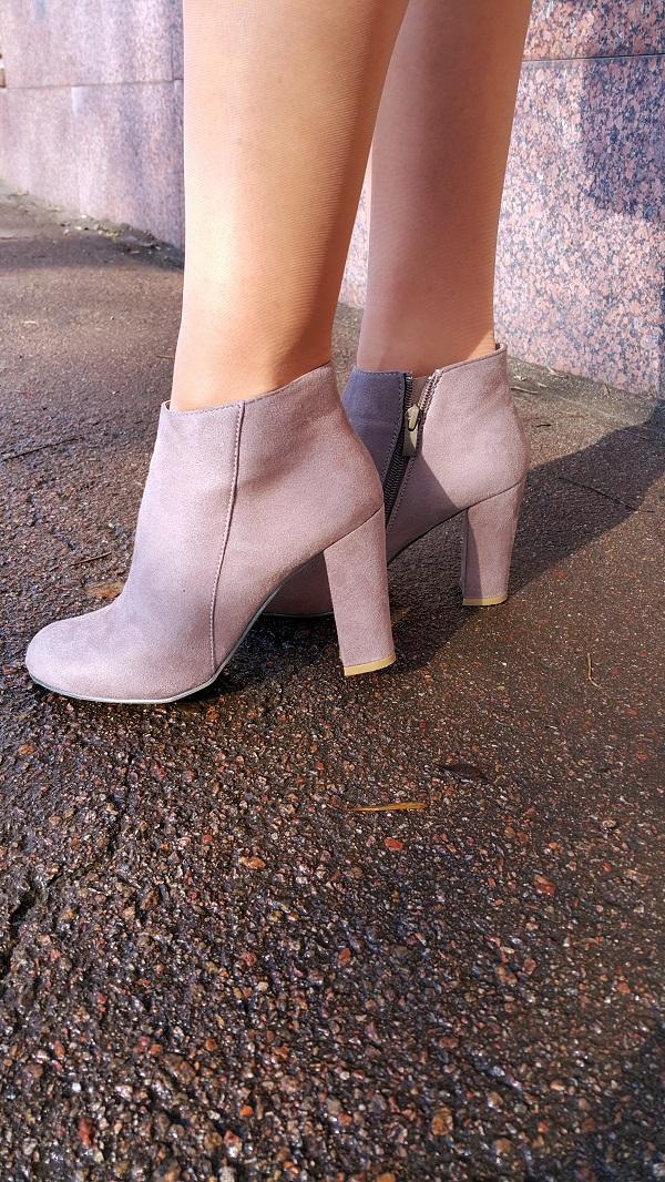 ботинки, модные ботинки, серые ботинки