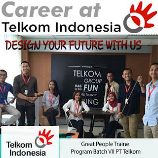 Great People Traine Program Batch VII PT Telkom