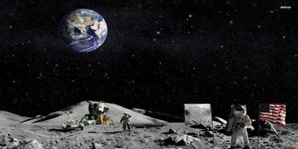 Συγκλονιστική ιστορία: Ο μοναδικός άνθρωπος που είναι θαμμένος στην...Σελήνη!