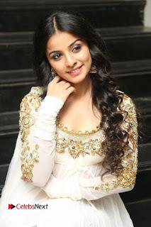 Telugu Actress Mahima Makwana Stills in White Desginer Dress at Venkatapuram Movie Logo Launch  0129.JPG