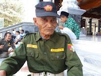 Berusia 92 Tahun, Abdul Jalil Tetap Semangat Menjadi Banser