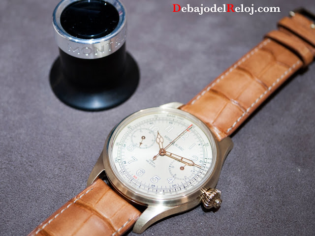 Montblanc 1858 Chronometer Tachymeter Limited Edition 100 mb3