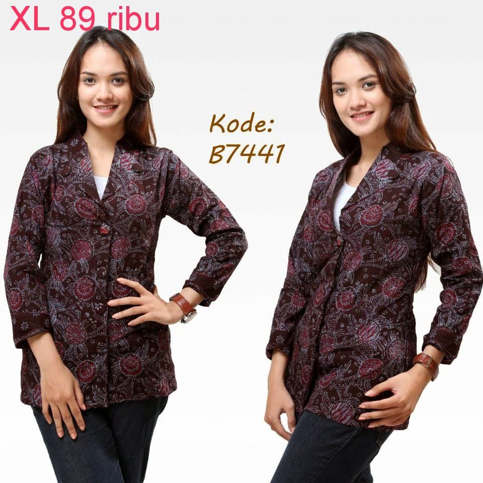 Pakaian Batik Untuk Interview Kerja: Model Baju Batik Modern Untuk Kerja