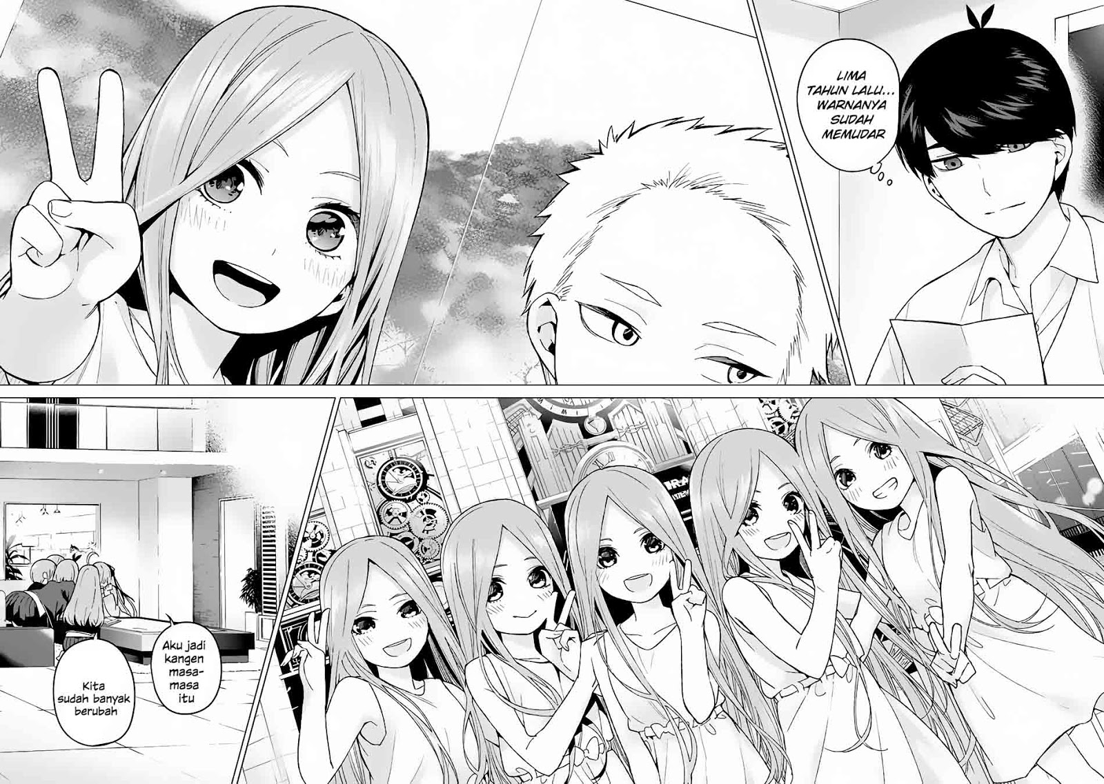 Baca Manga Go-toubun No Hanayome Chapter 14 Bahasa Indonesia