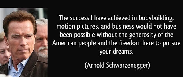 Arnold Schwarzenegger quotation