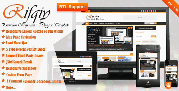 Rifqiy v1.35 – Themeforest