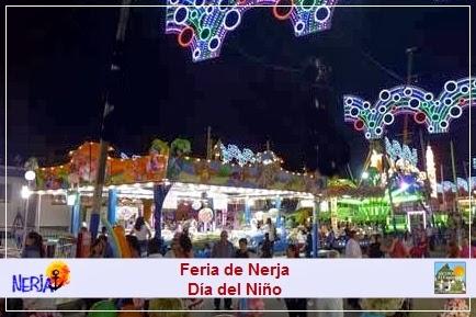 La Feria de Nerja celebra el Día del Niño