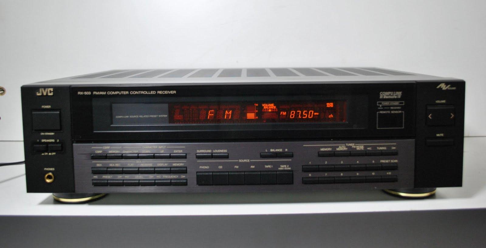 JVC RX-503 - Stereo Receiver