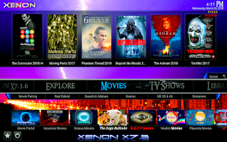 xenon build kodi