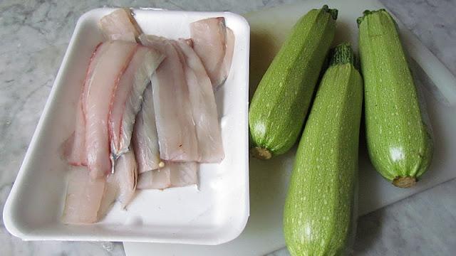 Pesce spatola e zucchine per creare una parmigiana spettacolare
