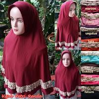 Jual Hijab Petri Renda