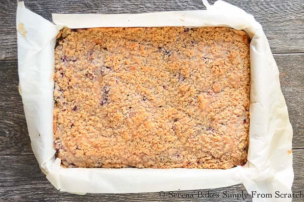 Bake Blackberry Buckle Cake recipe.