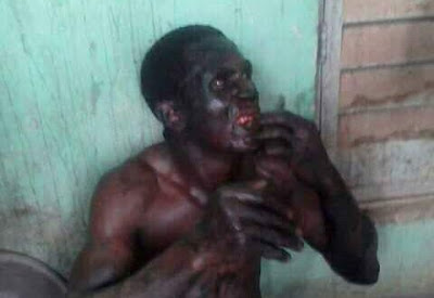 Suspected Badoo member caught in possession of human head