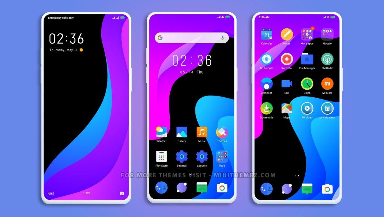 [HERUNTERLADEN] :  Ausweichen UI MIUI Theme |  Geben Sie Ihrem Xiaomi-Gerät ein anderes Aussehen