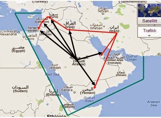 Middle East Map Activities.Irancare Iran S Plan For The Whole Middle East A Simple Map