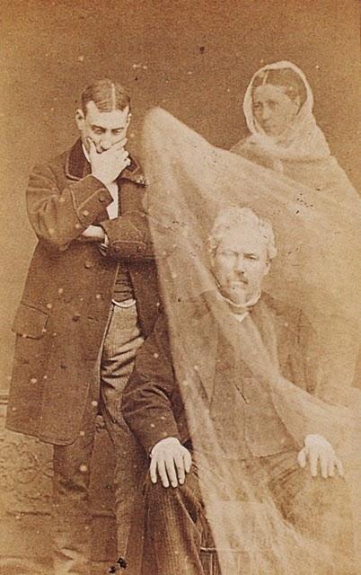 Spooky Victorian Spirit Photography Vintage Everyday