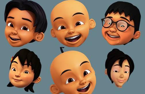 Mentahan Kepala Kartun Nobita Png