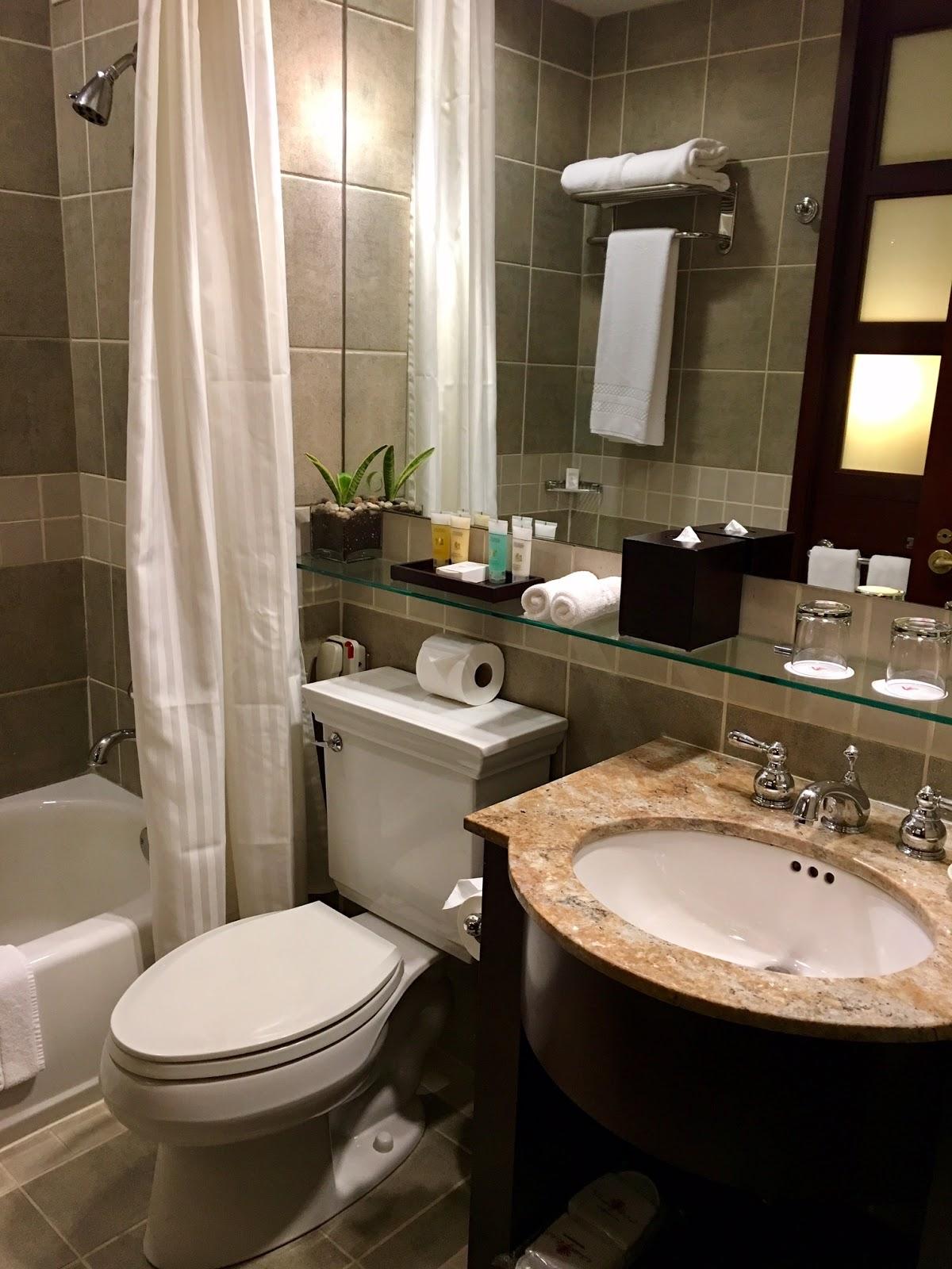 Library Hotel New York Bathroom