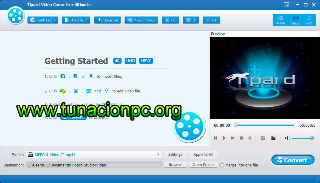 Descargar Tipard Video Converter Ultimate
