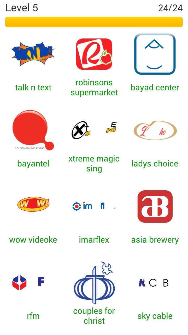 Word Quiz Geek: Logo Quiz Philippines Level 5