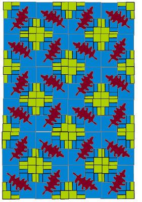 modern oak leaf lap quilt pattern by sarah vanderburgh