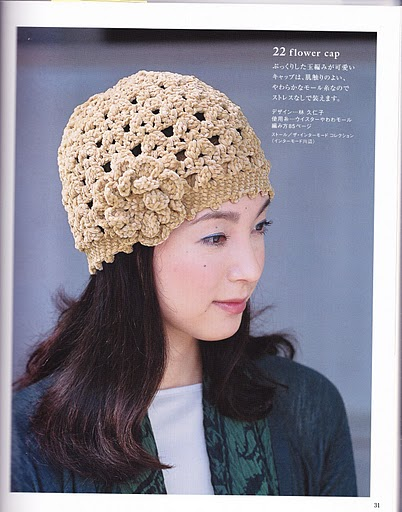 Boinas Tejidas Crochet