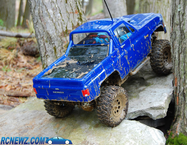 Tamiya High Lift rc rock crawler