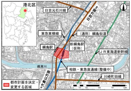 新綱島駅の再開発計画は100mのタワーマンションとショッピング ...