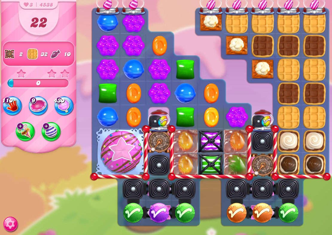 Candy Crush Saga level 4538