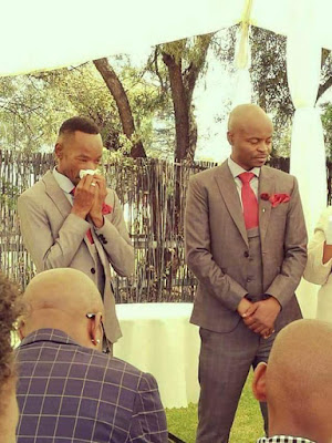 """Tufia, God punish you, Holy Ghost fire, abomination, insanity!"" - Facebook users reacts to the wedding between two Kenyan homosexuals"