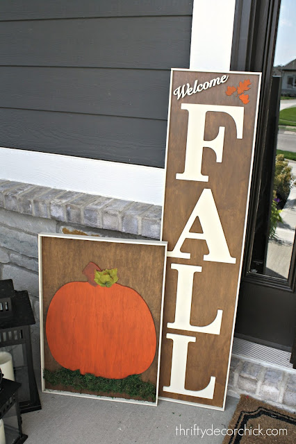 Cute fall signs you can make yourself