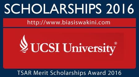 Tan Sri Ahmad Razali (TSAR) Merit Scholarship Award 2016