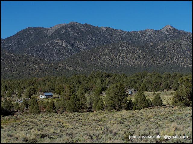 Paysage de la Sierra Nevada