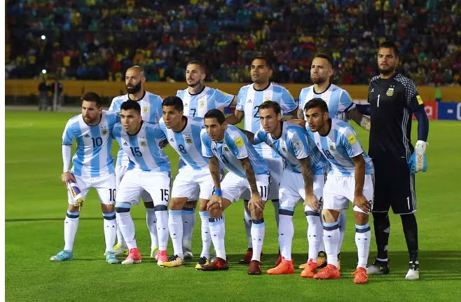 Argentina in Russia 2018: Messi and 22 other players