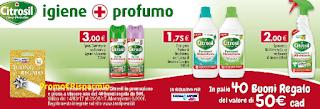Logo Con Citrosil vinci buoni regalo da 50 euro