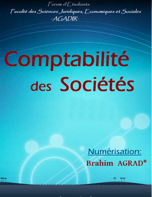 Livre comptabilité des sociétés PDF