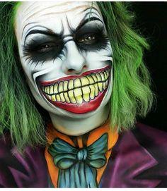 maquillaje de Halloween.