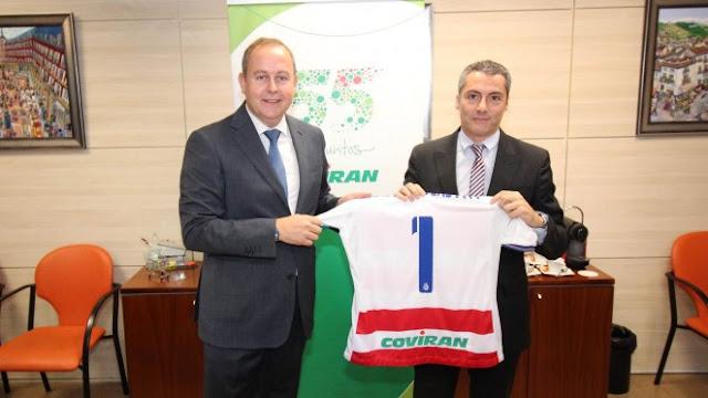 El Granada CF y Covirán renuevan su acuerdo de patrocinio