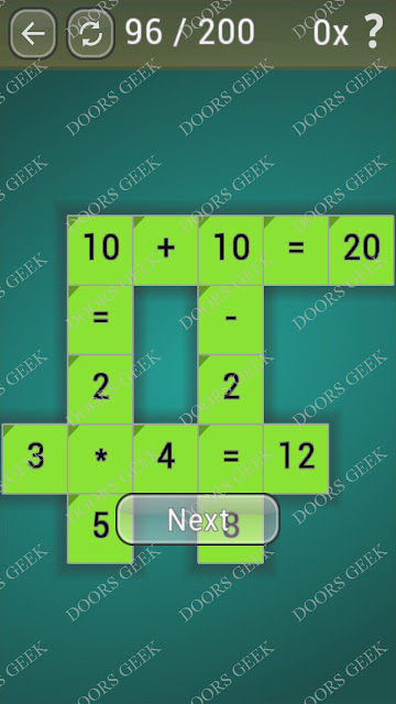 Math Games [Beginner] Level 96 answers, cheats, solution, walkthrough for android