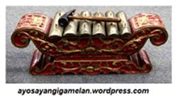 Ricikan Saron Penerus (Peking) Karawitan Jawa