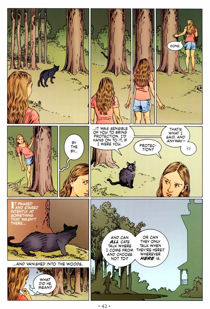 Read page 42, from Nail Gaiman and P. Craig Russell's Coraline graphic novel