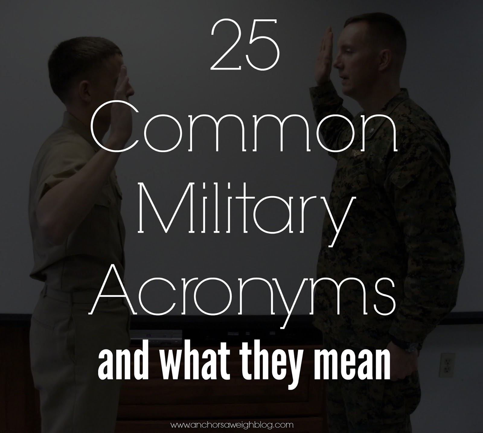 image gallery navy acronyms